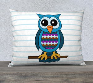 "Oliver the Owl Pillow Case - 26""x20"""