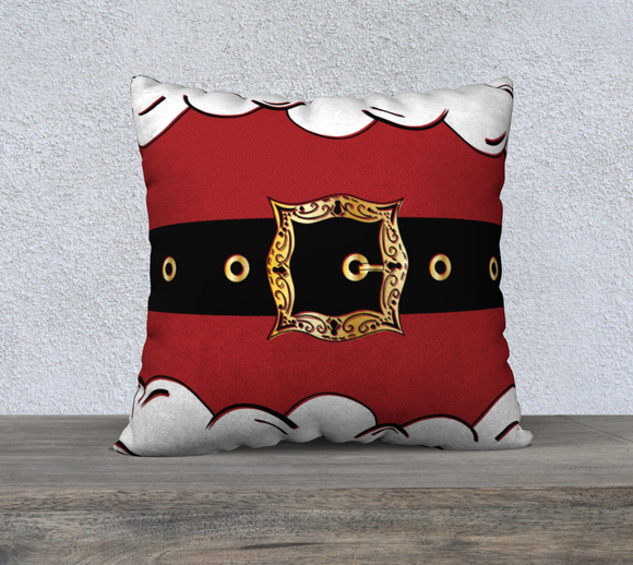 Santa Suit Pillow Case - 22