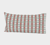 Classic Plaid Bed Pillow Sleeve