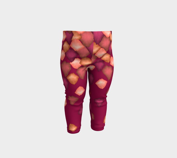 Falling Leaves Baby Leggings