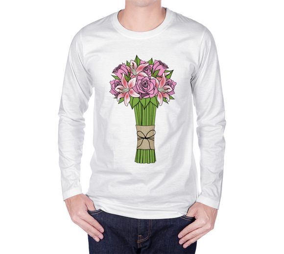 Bouquet of Flowers Long Sleeve T-Shirt