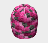 Pink Roses Beanie