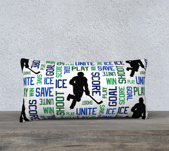 For the Love of Hockey Pillow Case - 24