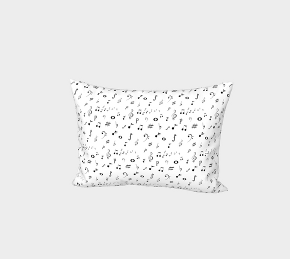Listen to the Music Bed Pillow Sham