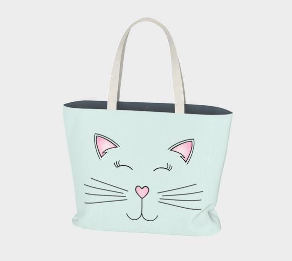 Pretty Kitty Market Tote
