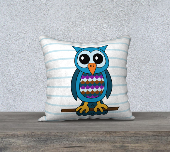 Oliver the Owl Pillow Case - 18