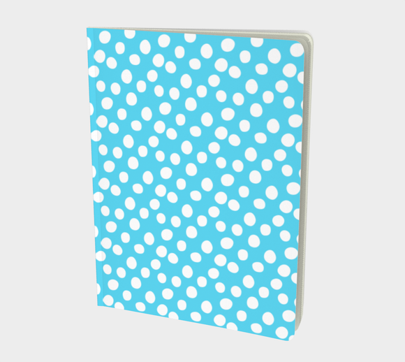 All About the Dots Notebook - Blue