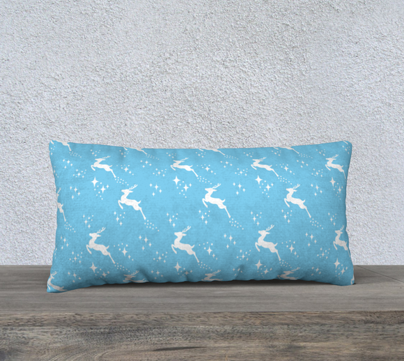 Let it snow, Deer Pillow Case - 24