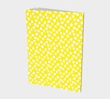 All About the Dots Notebook - Yellow