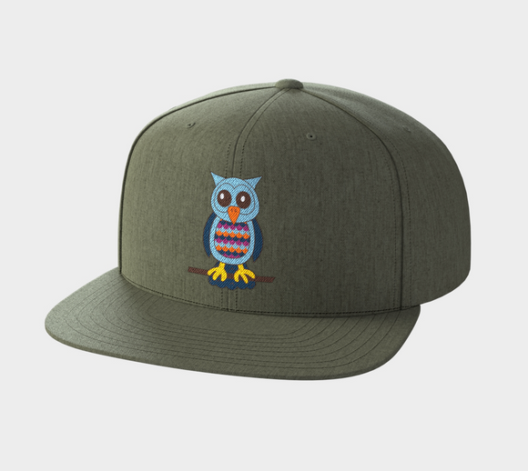 Oliver the Owl Snapback Hat