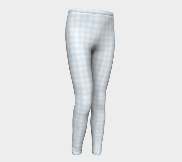 Gingham Youth Leggings