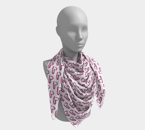 Falling For You Square Scarf