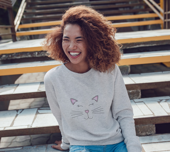 Pretty Kitty Crewneck Sweatshirt