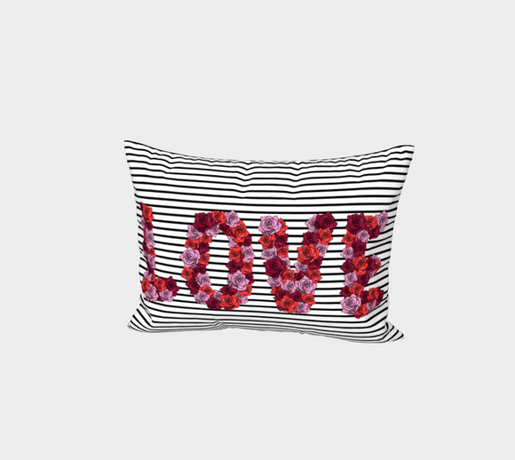 Blooming Love Bed Pillow Sham