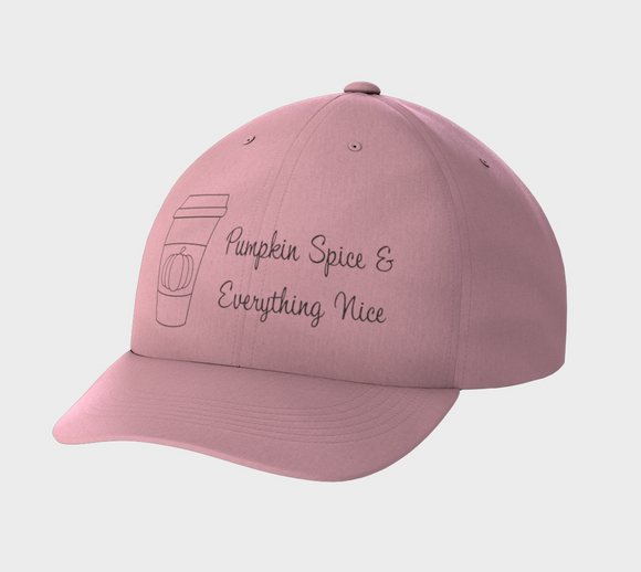 Pumpkin Spice & Everything Nice Dad Cap