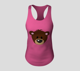 Buddy the Bear Racerback Tank Top