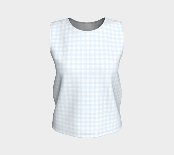 Gingham Loose Tank Top (Regular)