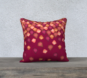 "Falling Leaves Pillow Case - 18""x18"""