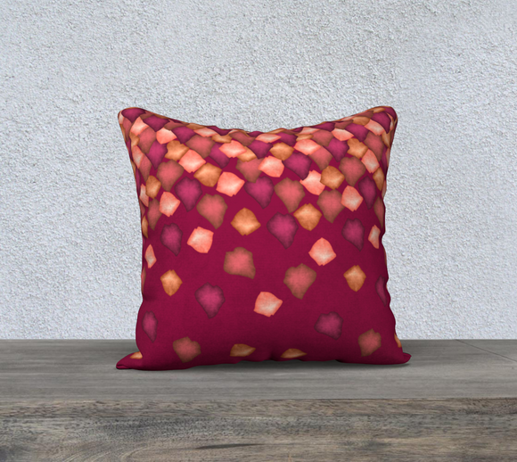 Falling Leaves Pillow Case - 18