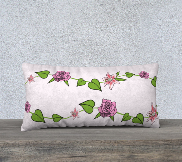 Bouquet of Flowers Pillow Case - 24