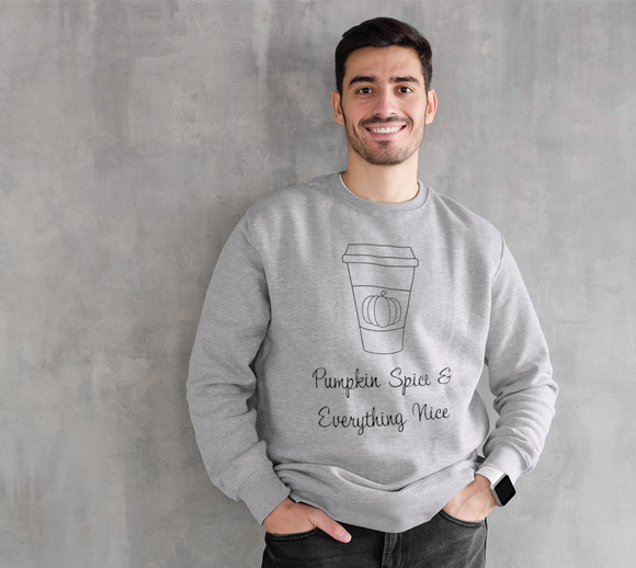 Pumpkin Spice & Everything Nice Crewneck Sweatshirt