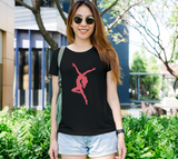 Dance Like Nobody's Watching Women's Fitted Tee