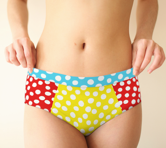 All About the Dots Cheeky Briefs