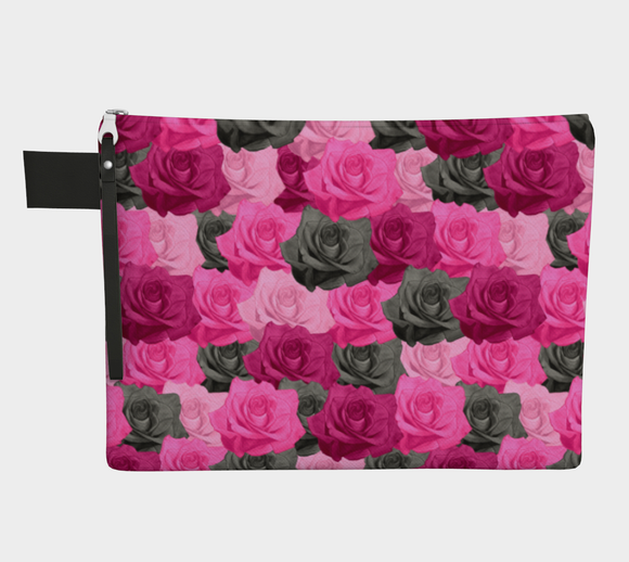 Pink Roses Pouch