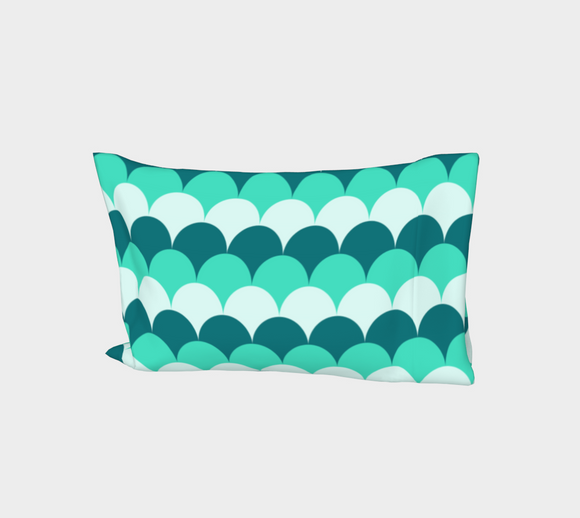 Mermaid Scales Bed Pillow Sleeve
