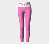 Bouquet of Flowers Yoga Leggings