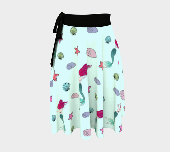 Under the Sea Wrap Skirt