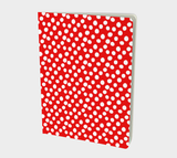 All About the Dots Notebook - Red