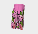 Bouquet of Flowers Flare Skirt