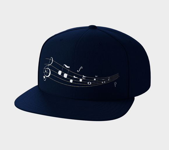 Listen to the Music Snapback Hat