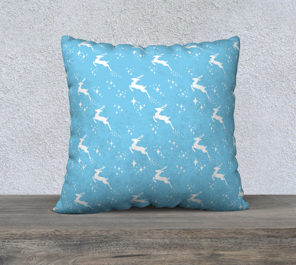 Let it snow, Deer Pillow Case 22