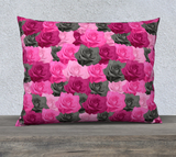 "Pink Roses Pillow Case - 26"" x 20"""