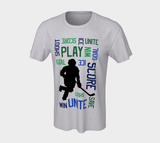 For the Love of Hockey Unisex Tee - Blue