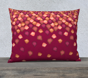 "Falling Leaves Pillow Case - 26""x20"""