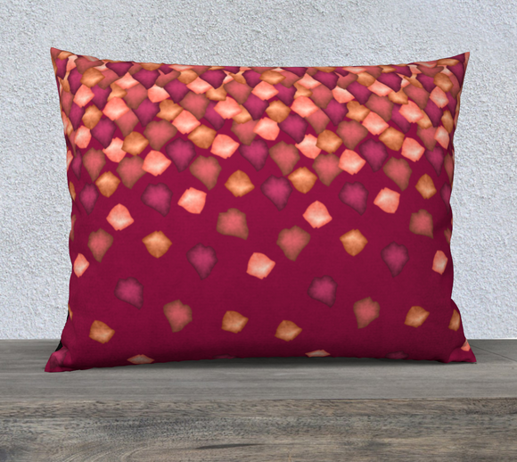 Falling Leaves Pillow Case - 26