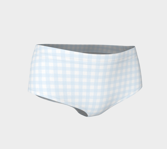 Gingham Mini Shorts