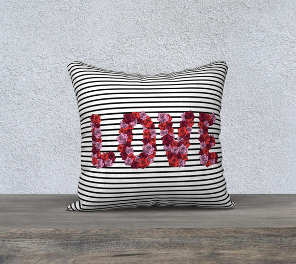 Blooming Love Pillow Case - 18