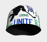 For the Love of Hockey Beanie - Blue and Green