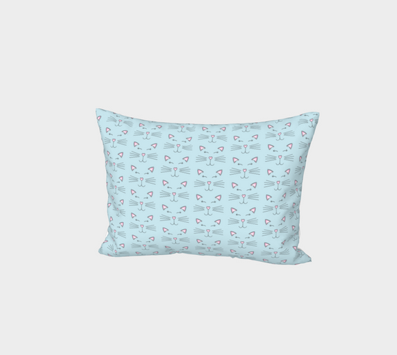 Pretty Kitty Bed Pillow Sham