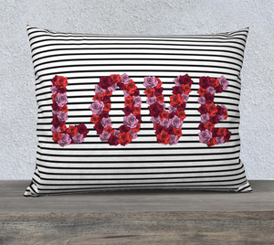 "Blooming Love Pillow Case - 26""x20"""