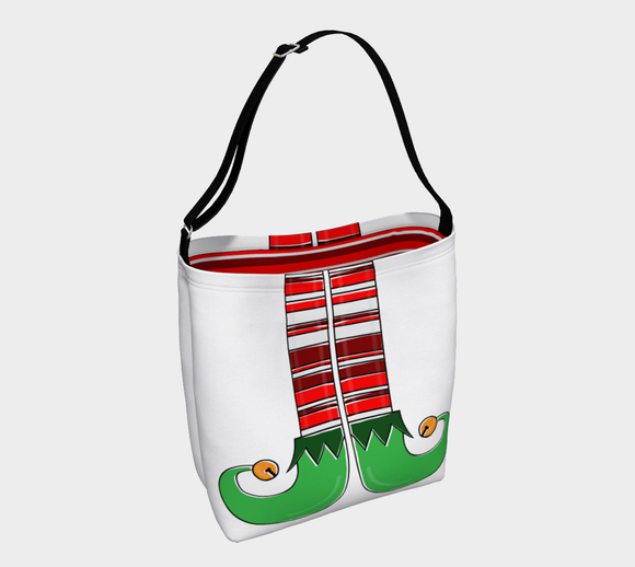 Elf Feet Tote Bag