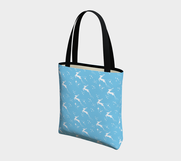 Let it snow, Deer Basic Tote