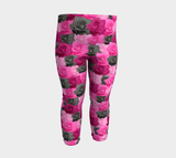 Pink Roses Baby Leggings