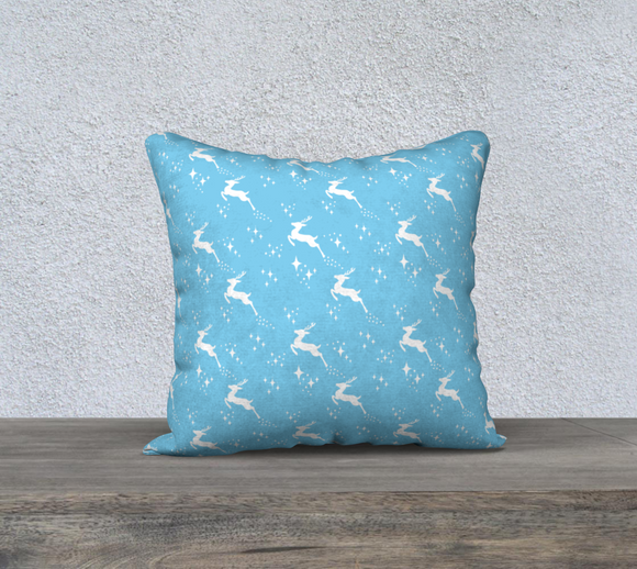 Let it snow, Deer Pillow Case - 18