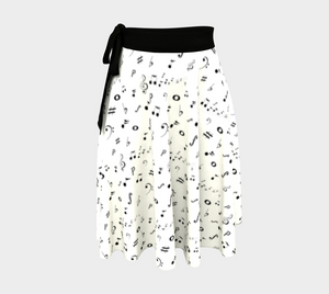 Listen to the Music Wrap Skirt