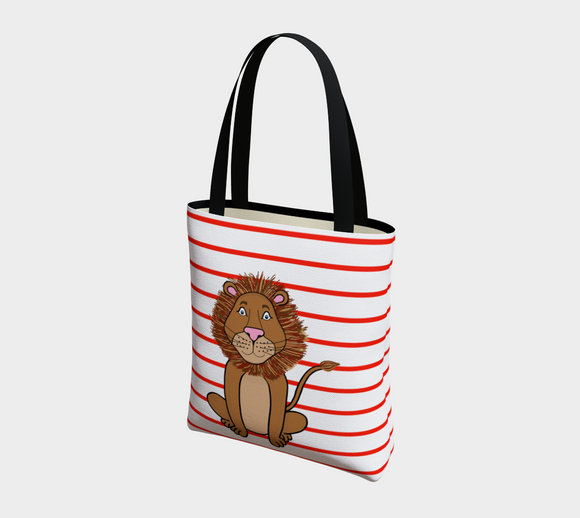 Leo the Lion Basic Tote